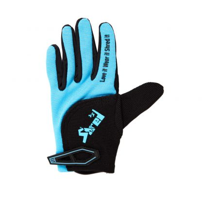 Child Full Finger Trail Glove Blue Palm