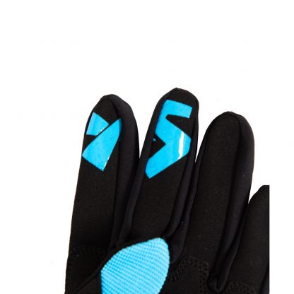 Youth Full Finger Trail Glove Blue