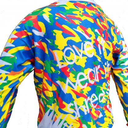 Colourful DH jersey